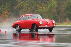 The 356's profile may date back to Dr. Porsche's first bathtub-shaped sports cars, but the model has become an icon in sports car circles.