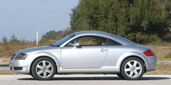 One of the top concept cars in the 90s was the Audi TT.