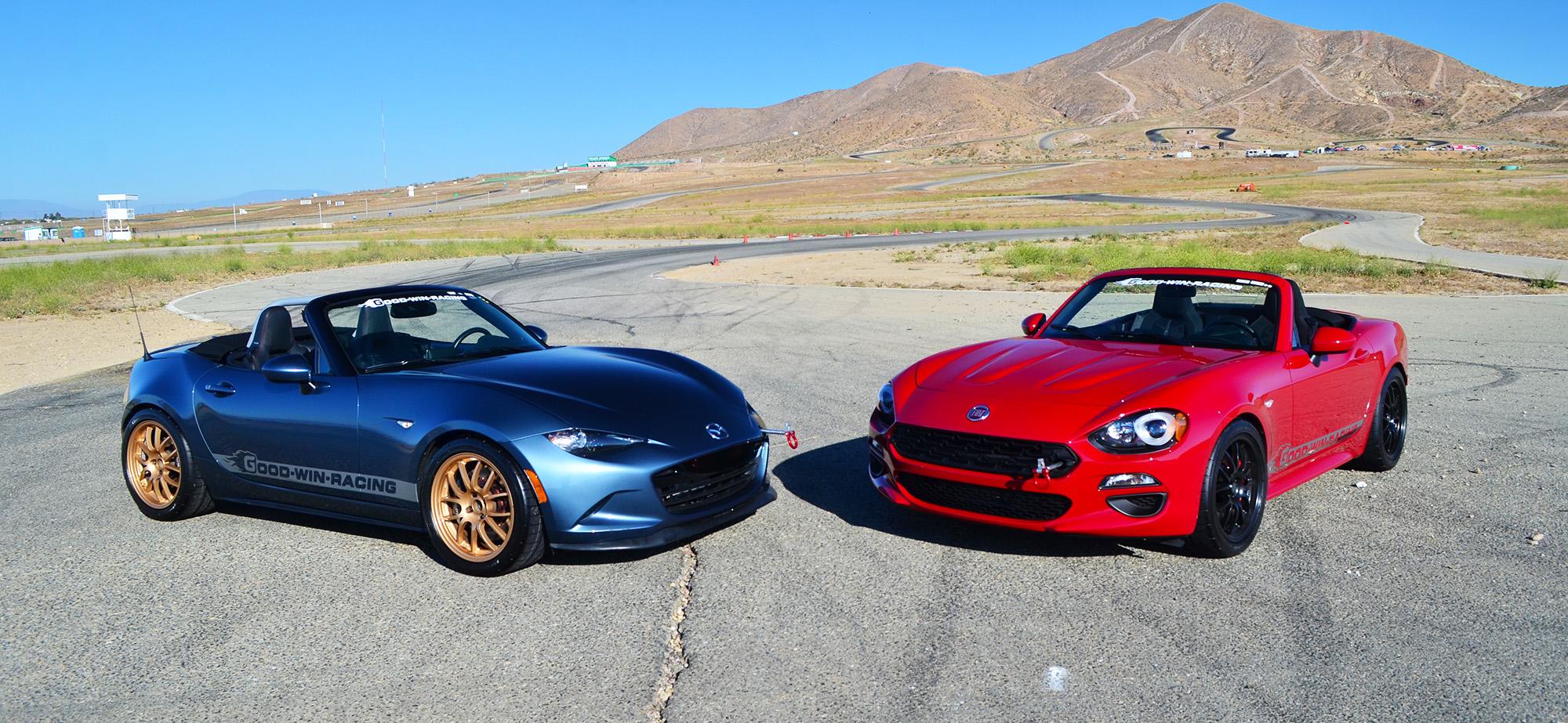 Family Feud: Mazda MX-5 Versus Fiat 124 | Articles | Grassroots ...