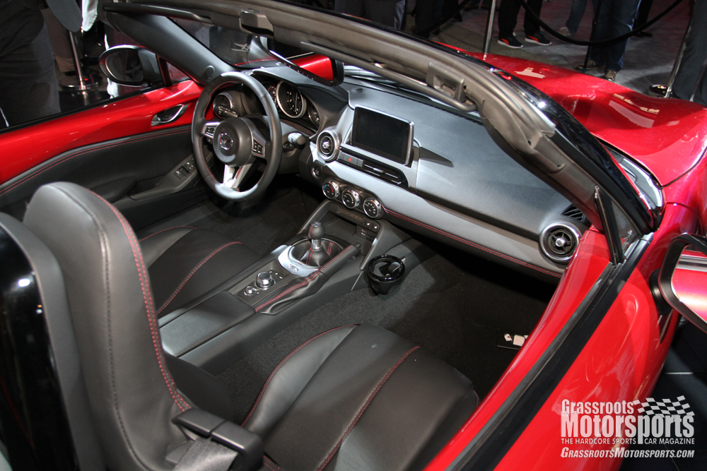 photos of the new mazda mx 5 miata are here news grassroots motorsports. Black Bedroom Furniture Sets. Home Design Ideas