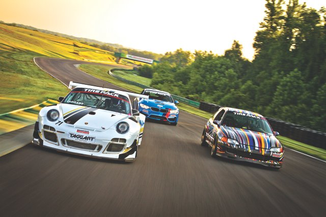 America's hottest track machines challenge the curves of VIR