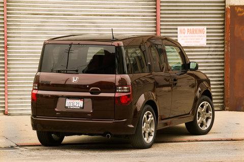 New car reviews » 2008 Honda Element SC