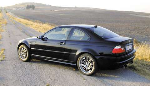 New car reviews » 2001 BMW M3