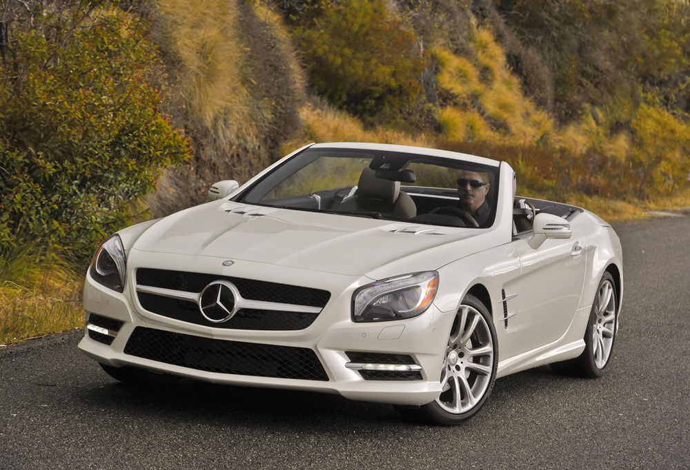 2013 mercedes benz sl550 roadster new car reviews for Drop top mercedes benz prices