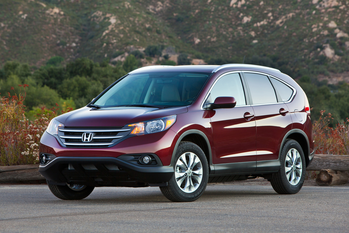 The CR-V looks a little funky, but is inoffensive.