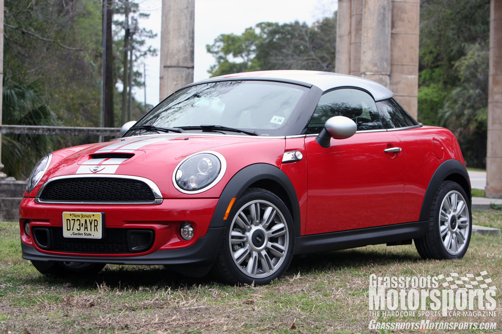 grm review mini cooper s coupe grassroots motorsports. Black Bedroom Furniture Sets. Home Design Ideas