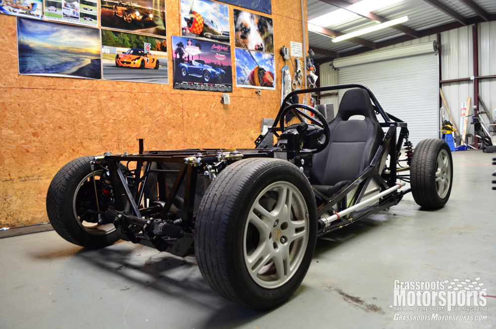 Rolling Chassis Factory Five 818 Project Car Updates