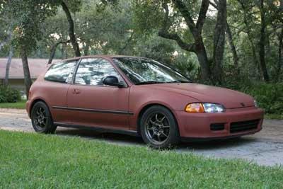 1992 Honda Civic Si Project Cars