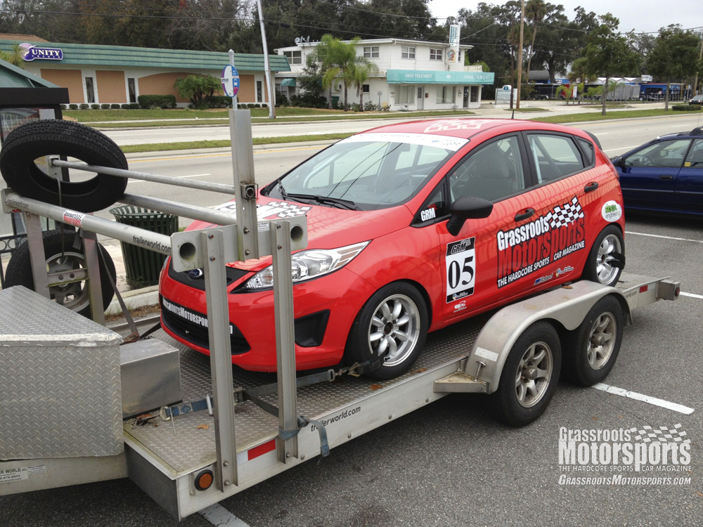 Officially a Race Car & Officially a Race Car | Ford Fiesta | Project Car Updates ... markmcfarlin.com
