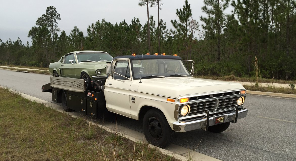 1973 Ford F-350 Ramp Truck