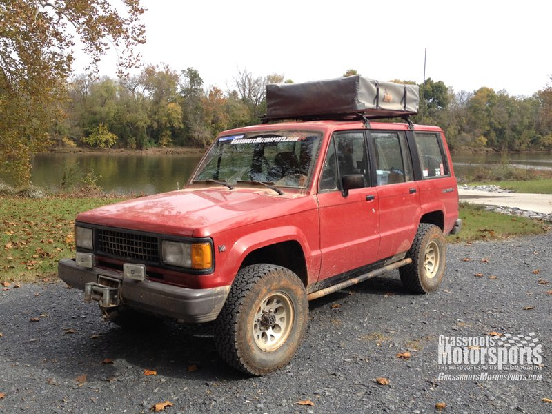 1991 Isuzu Trooper Project Cars