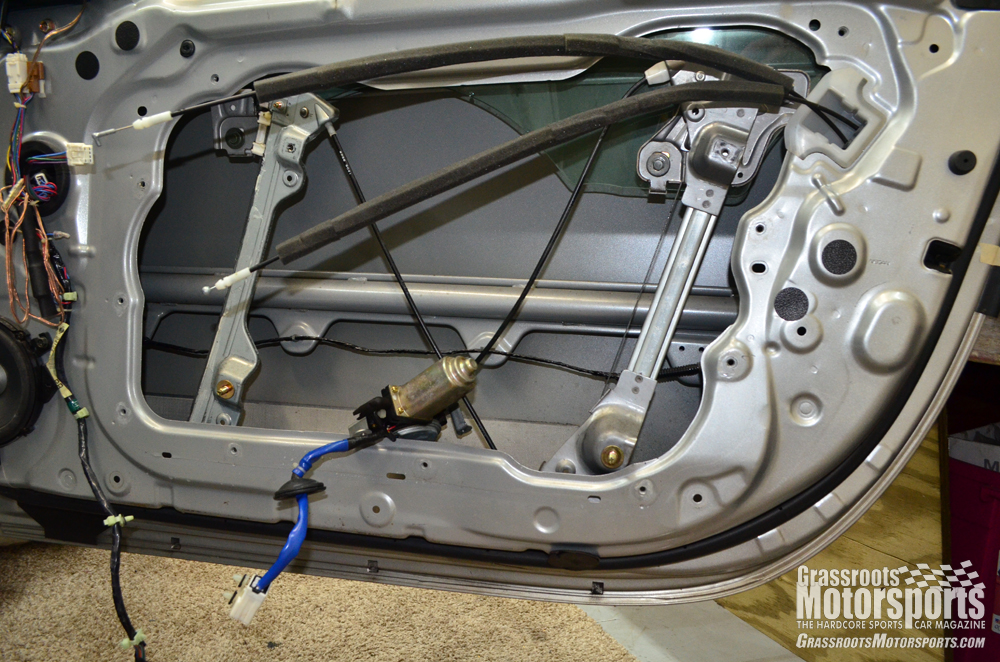Another new motor nissan 350z project car updates for Door motor for cars