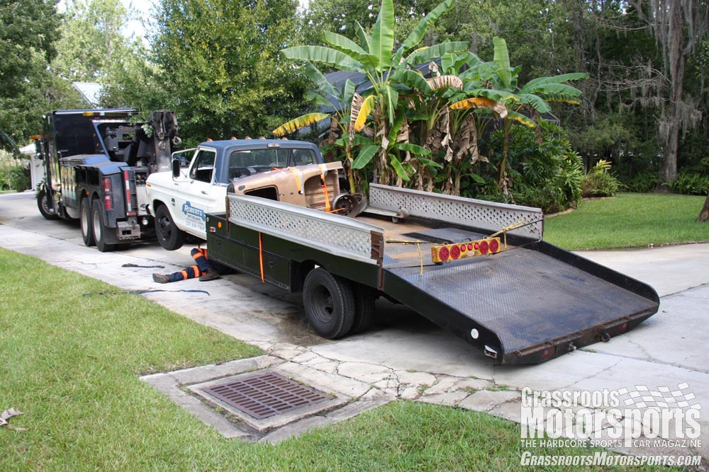 how to build a ramp truck