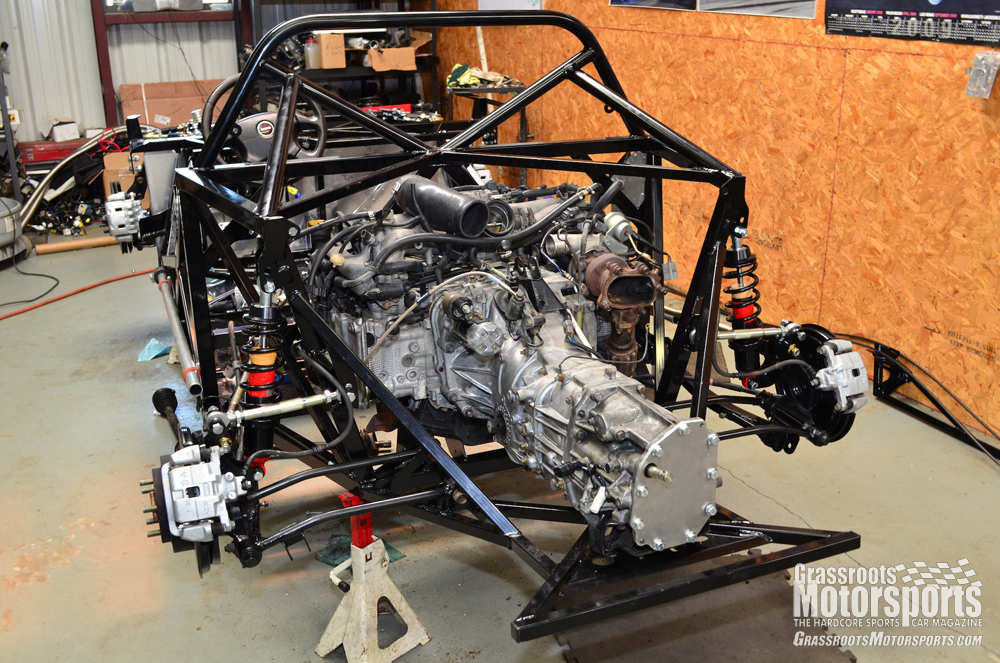 Installing The Engine Factory Five 818 Project Car