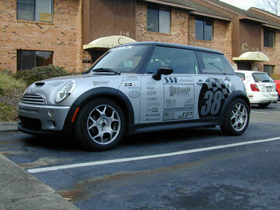 Updated Graphics Mini Cooper S Project Car Updates Grassroots Motorsports