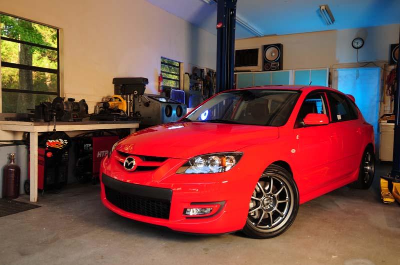 Mazdaspeed3 Project Series Begins | Mazda Mazdaspeed3 ...