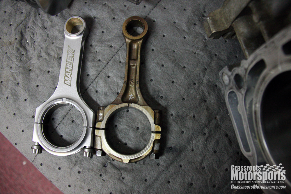 Somethings Bent on bad connecting rod