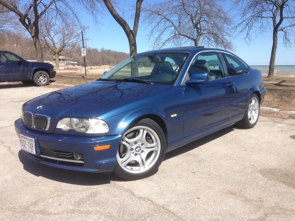 2002 BMW 330ci E46 Topaz Blue 5speed tasteful mods 9500 obo