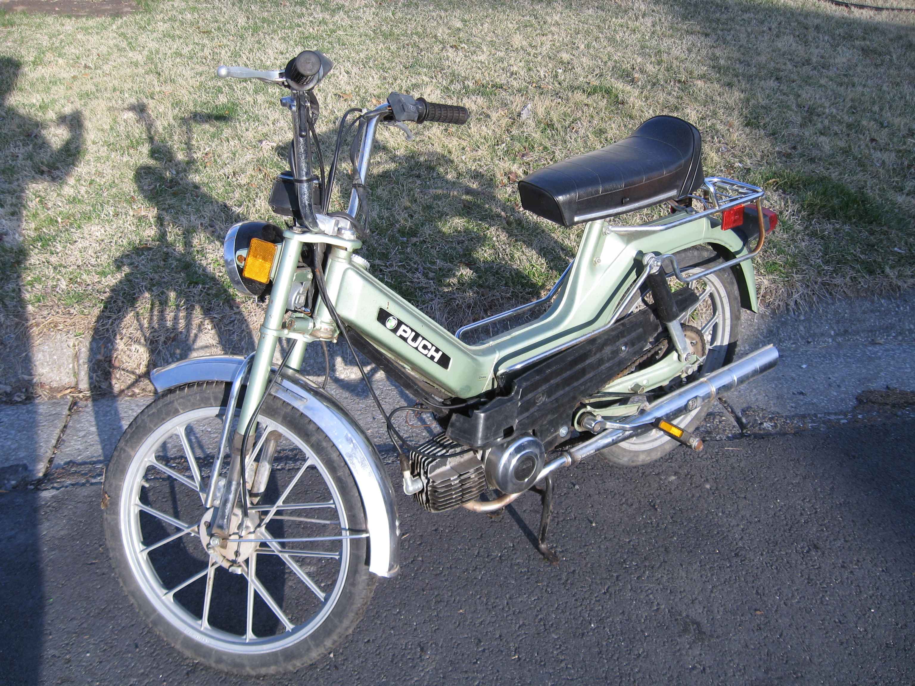 clemsparks 39 s other puch moped readers rides. Black Bedroom Furniture Sets. Home Design Ideas