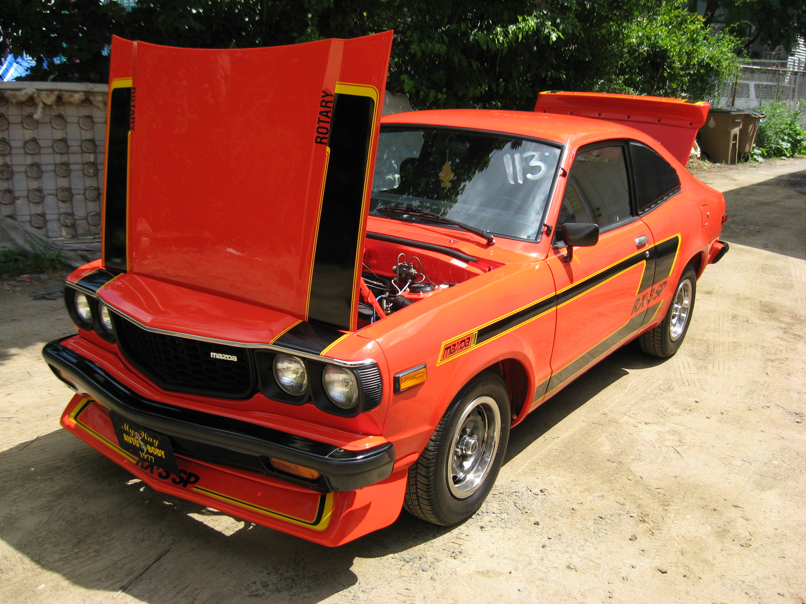 Mazda RX3 Tuning Sports Coupe