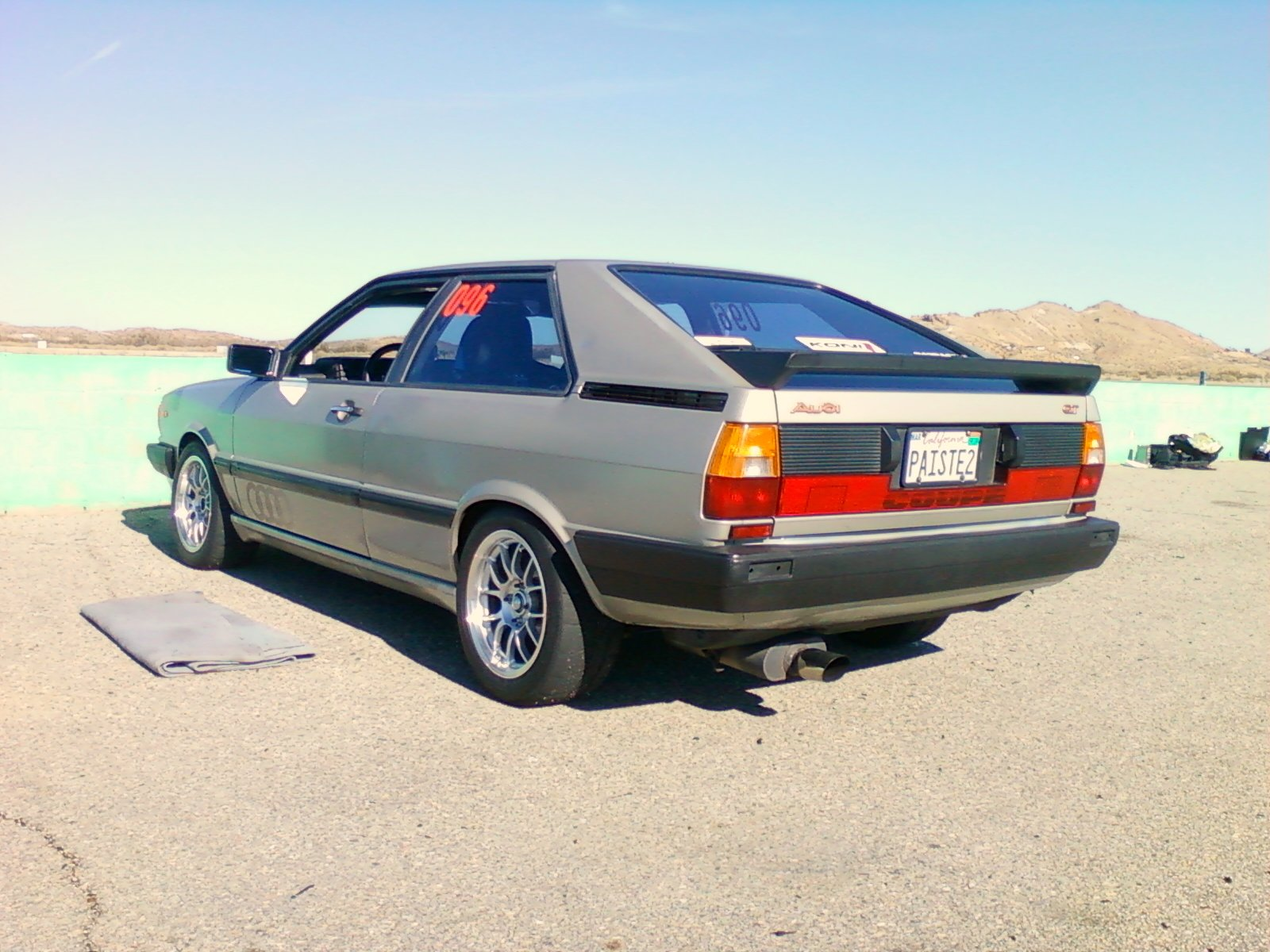 type85s Audi Coupe GT of death Readers Rides
