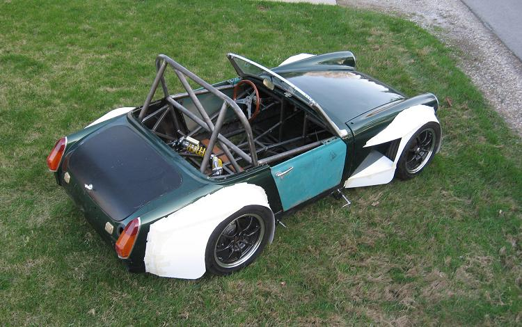 Wide Rear Tire For A 67 Midget Mgb Amp Gt Forum Mg