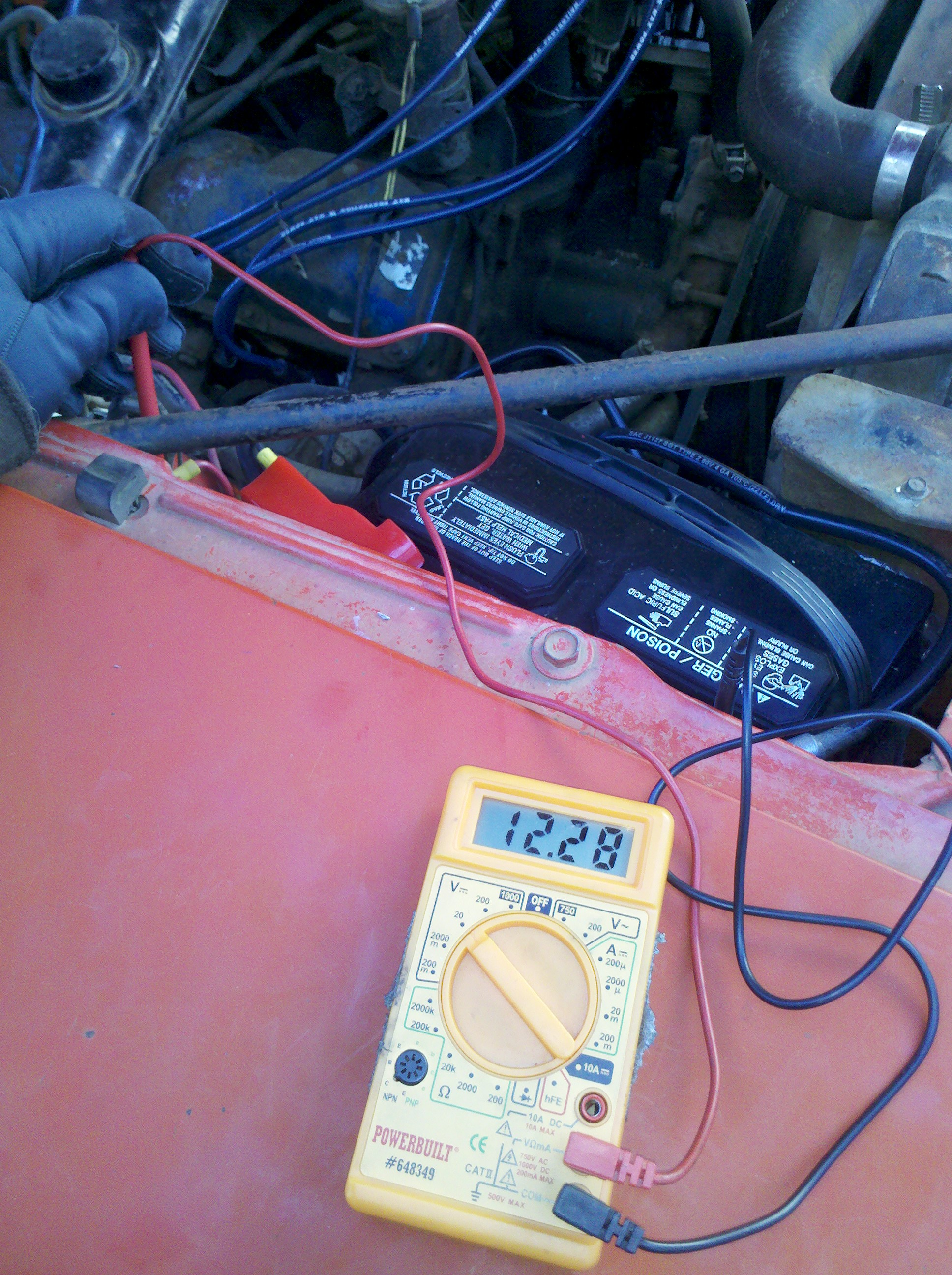Michaels Amc Javelin Build The Forums 1968 Wiring Diagram Now Sports Following New Parts Battery Cables Ground Starter Cable Solenoid Ignition Switch