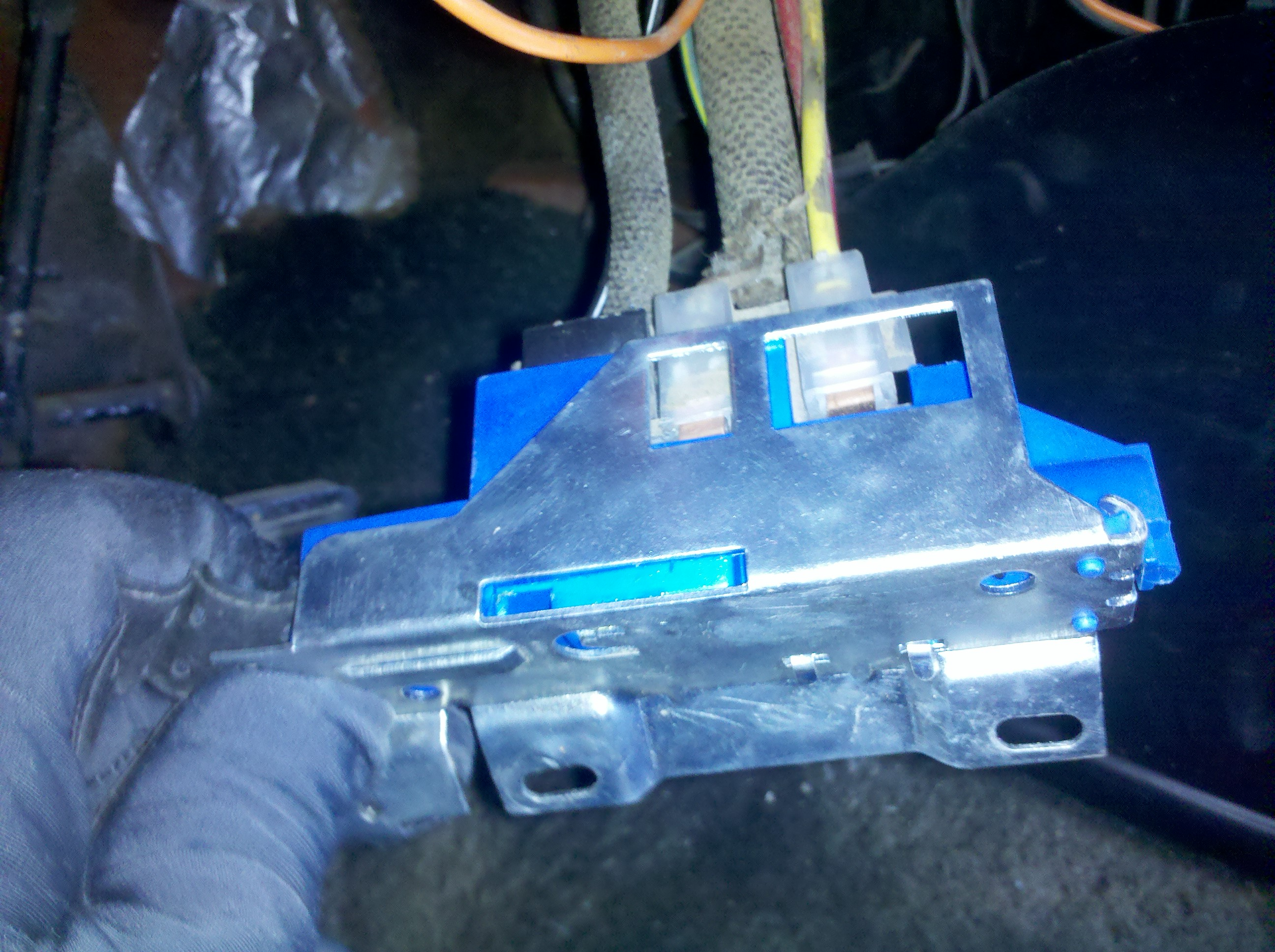 Michaels Amc Javelin Build The Forums Amx Wiring Diagram Still Had A No Start Situation With So I Grabbed New Ignition Switch And Installed It This Is Common 70s Gm Unit As Switched To