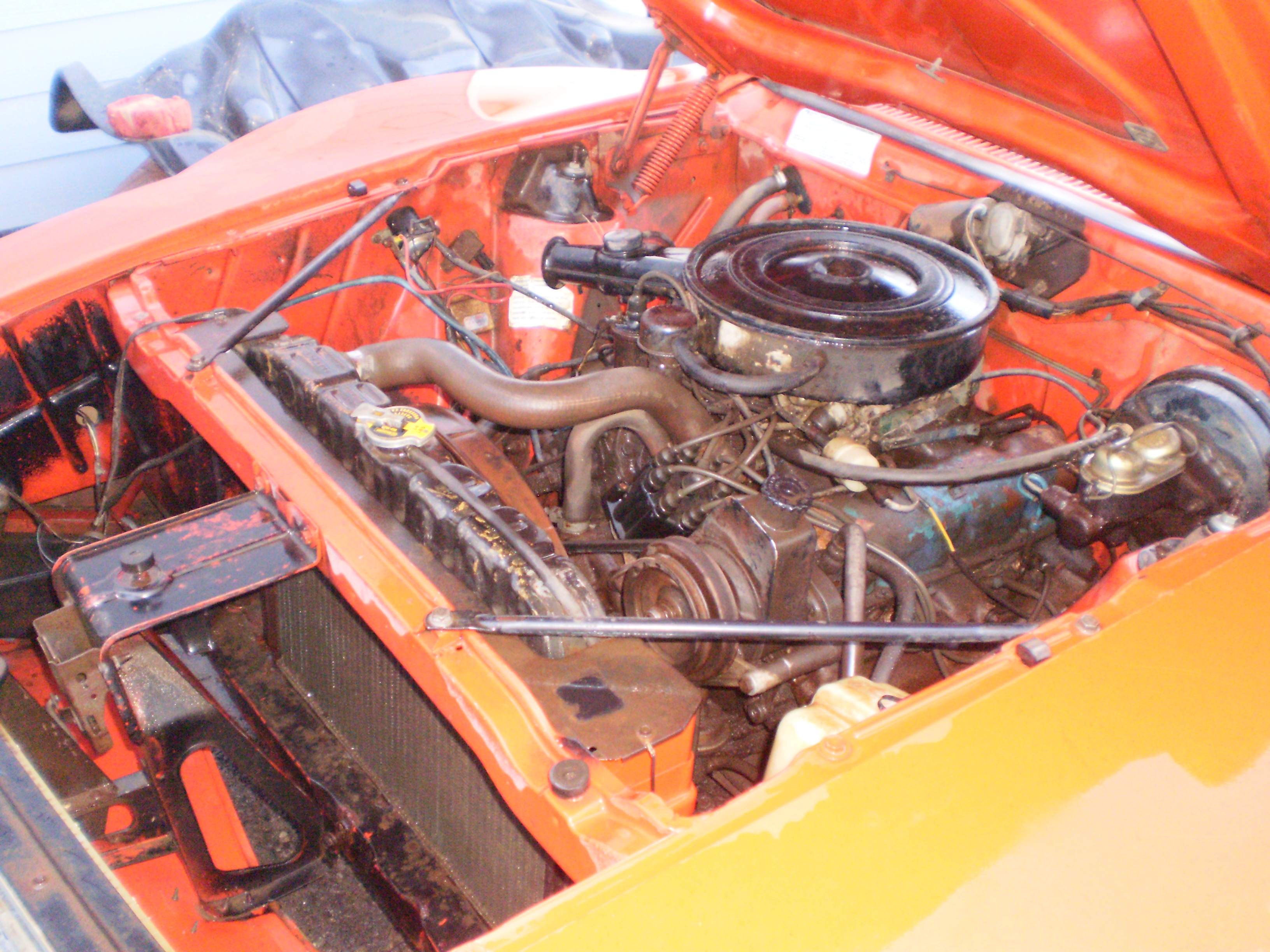 Michaels Amc Javelin Build The Forums 1968 Wiring Diagram First Off Under Hood I Shop Vacd Up All Dirt And Mouse Poo Washed Everything Down No Water Seeped Into Engine Oil Still Looks New